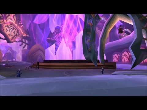 Exodar - Walking trough - World of Warcraft