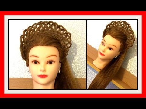 BASKET WEAVE CROWN BRAID HAIRSTYLE / HairGlamour Styles /  Hairstyles / Hair Tutorial