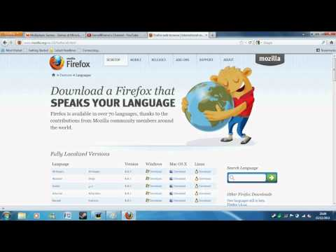 How to download Firefox web browser for your laptop/pc.