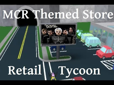 My Chemical Romance Themed Store | Retail Tycoon (ROBLOX)