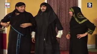 ZAFRI KHAN AMANAT CHAN LARKION KE ROOP MEIN - LATEST COMEDY STAGE DRAMA CLIP - HI-TECH PAKISTANI