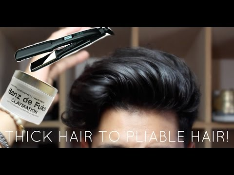 How To Style Wavy Hair | Wavy Mens Hairstyles