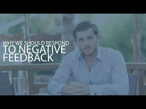 Episode 25: Why We Should Respond To Negative Feedback