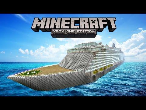 Episode 10: Minecraft World Tours (Massive Cruise Ship)