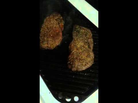 Grilled Steak & Potatoes