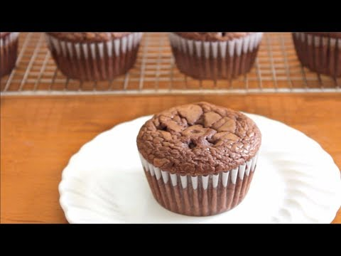 4 ingredient Nutella Muffins 🍫 | SweetTreats