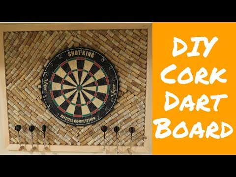 DIY Corked Dart Board!