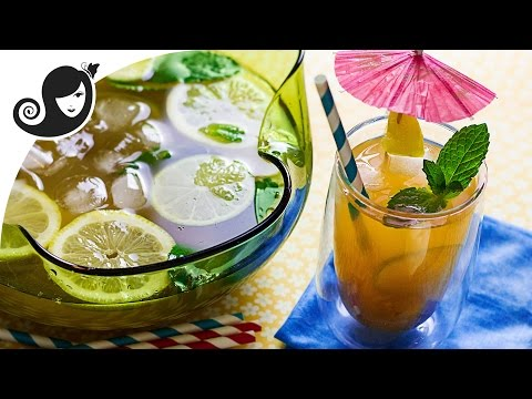 Tamarind Lime Lemonade - Summer Mocktail Recipe | Vegan Non-Alcoholic Beverage