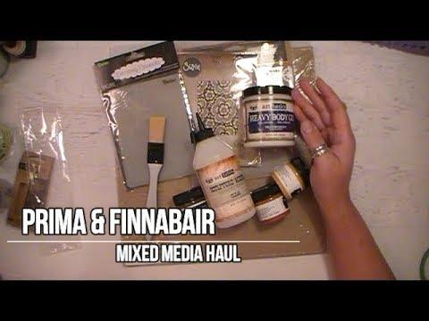 Prima & Finnabair Mixed Media Haul