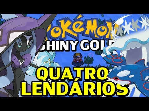 Pokémon Shiny Gold Sigma (Detonado - Parte 60) - Nihilego, Tapu Fini, Kyogre e Regice!