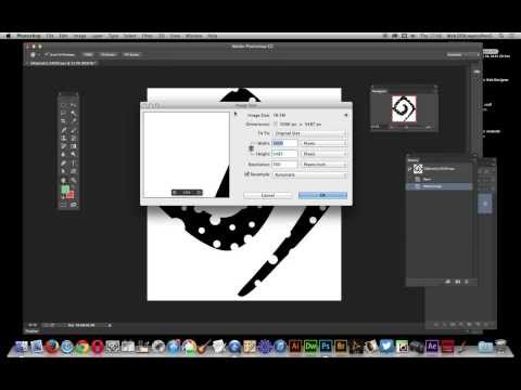 Photoshop CC / 14.2 : EPS files for any size of document