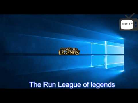 How To play League of legends In Turkey Server With English Language 2018