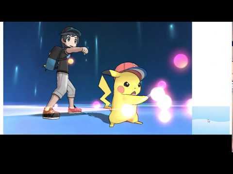 How to get Ash Cap Pikachu with Pikashunium Z in Pokemon Sun and Moon