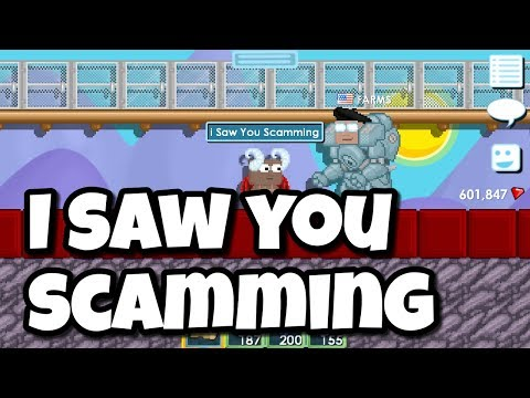 I Saw You SCAMMING | Growtopia