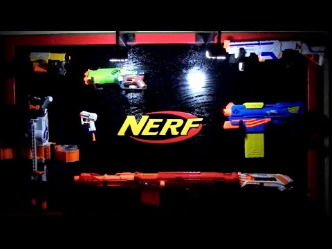 Ultimate Nerf Gun Rack