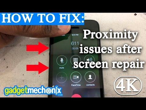 How to fix a proximity sensor issue after repairing iphone Screen (Gadget Mechanix) tips