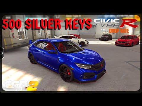 CSR Racing 2 - Got 6 Civic Type R`s - Best pull ever - 10x drop rate