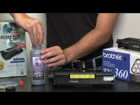 Toner Refill Kit for Brother - how to refill Brother toner cartridges using toner refills