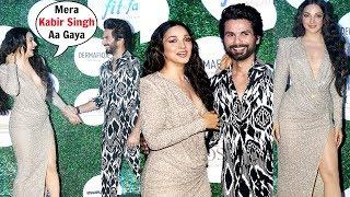 Kiara Advani CUTE Moments With Shahid Kapoor At Global Spa Fit And Fab Awards 2019