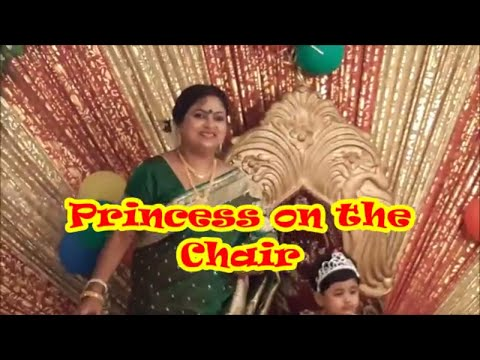 Princess On The Chair
