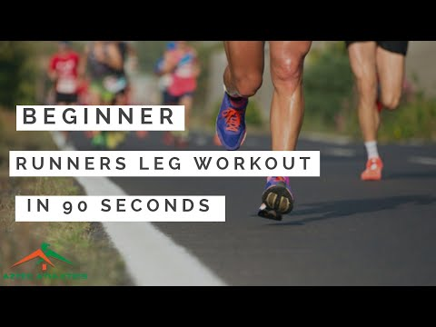 BEGINNER RUNNERS LEG WORKOUT IN 90 SECONDS