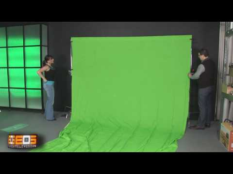 Chroma Key Studio Set Up HD