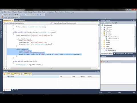 ASP.NET Web API, Part 1: Your First Web API