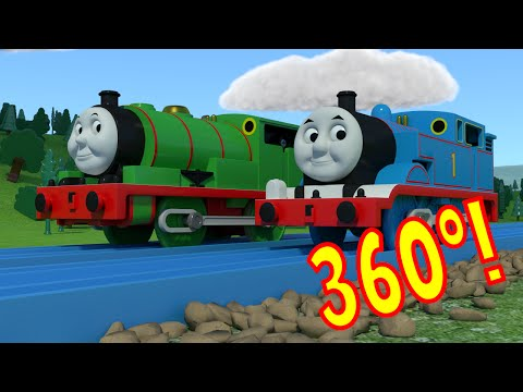 360º TOMICA Thomas & Friends: Trainspotting at Tidmouth Tunnel