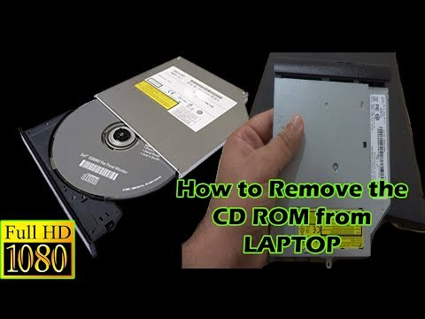 #How to Remove the #CD-ROM Drive from #Laptop
