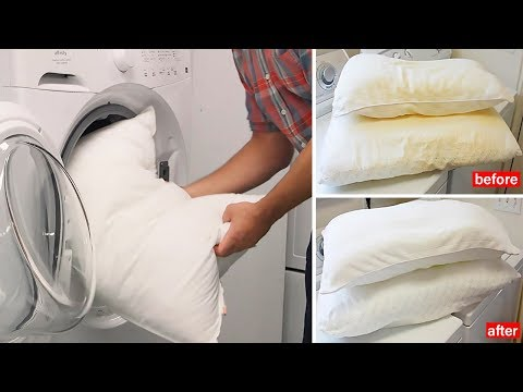 How to Naturally Clean and Whiten Your Yellowed Pillows