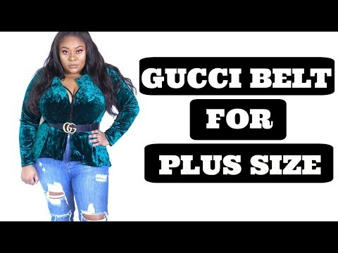 GUCCI BELT FOR PLUS SIZE | HOW TO CHOOSE YOUR SIZE AND UNBOXING