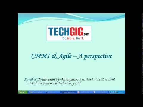 Introduction - CMMI & Agile -- A perspective