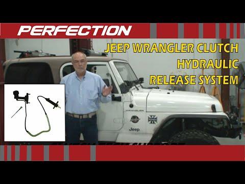 Jeep Wrangler Clutch Hydraulic Release System