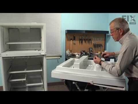Amana Refrigerator Repair – How to replace the Door Gasket