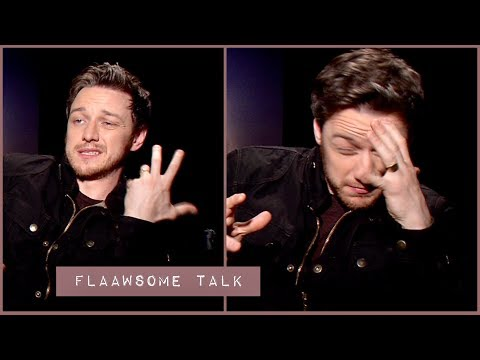 James McAvoy (On That Painful Moment): - I Punched Nicholas Hoult In The NUTS 😬