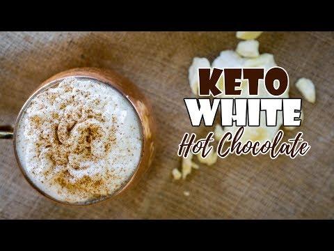 Cacao Butter Keto Hot Chocolate | Caffeine Free | 0 Carb