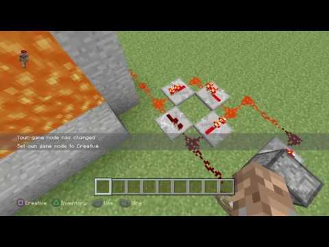 Minecraft ps4 - FIRE SNOWBALLS?!