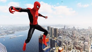 Download Spider-Man PS4 - Far From Home Suit Flawless Combat, Stealth & Free Roam Gameplay Video