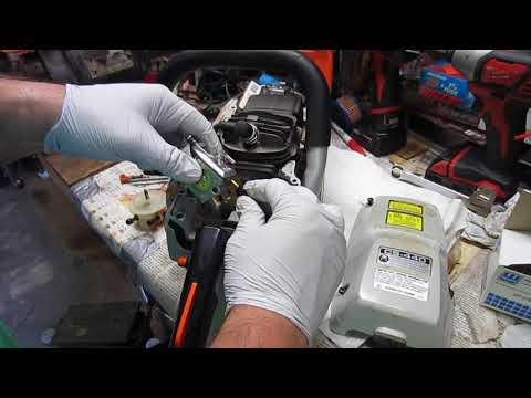 Echo CS 440 Carburetor Replacement  Chainsaw Carburetor adjustment