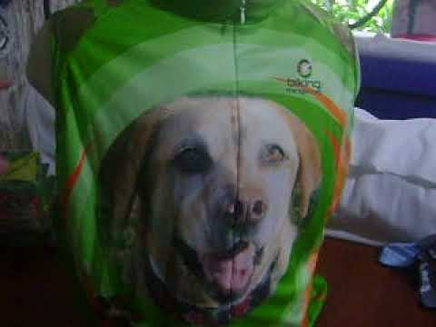 Dog Bike Jersey, Cool your pet on a bike Jersey by Bikingthings