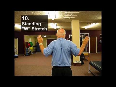 Fall Prevention Exercises (Posture Series) - Standing W Stretch