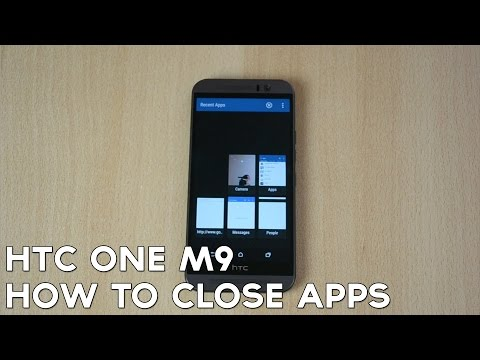 How to Close Down Apps on HTC One M9!
