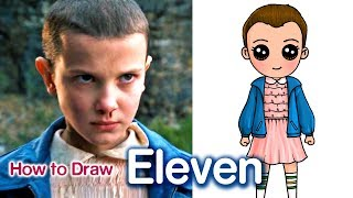 How to Draw Eleven | Stranger Things