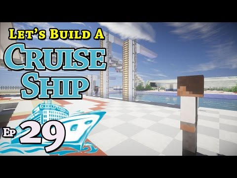 How To Build A Cruise Ship :: Minecraft :: E29 :: Z One N Only