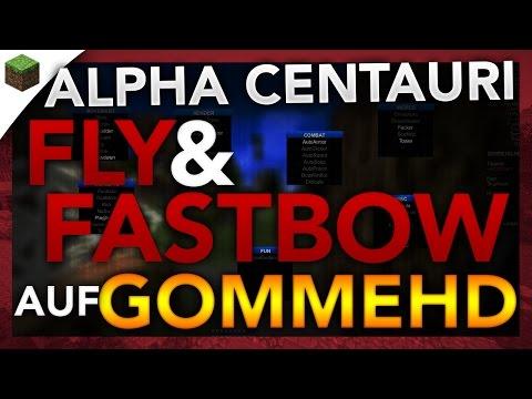 FLY & FASTBOW auf dem neuem GommeHD Anticheat! - Minecraft Lets Hack: Bedwars #FreeAlts xd