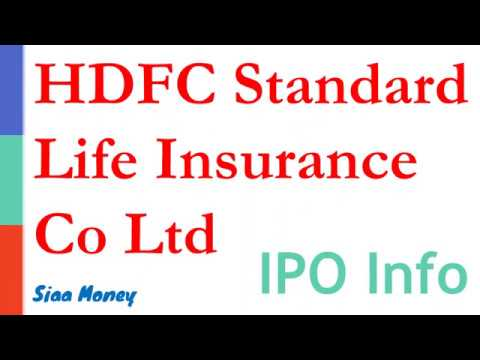 HDFC Standard Life Company Limited IPO Analysis / HDFC Life IPO / IPO Review Hindi