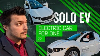 SOLO: Behind The Wheel Of The One-Person Electric Car