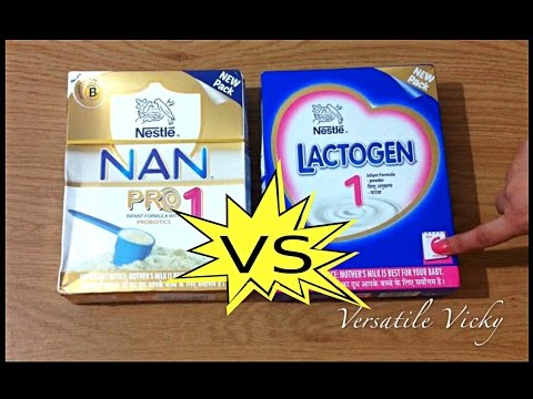 Nestle Nan Pro VS Lactogen | Best Infant Milk Formula / Best Baby Formula Milk | Nan Pro 1 Review