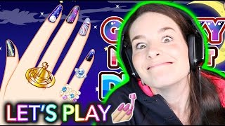 NAIL PAINTING VIDEO GAME! Let