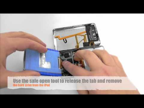 Installing a iPod Video 5th Generation Battery